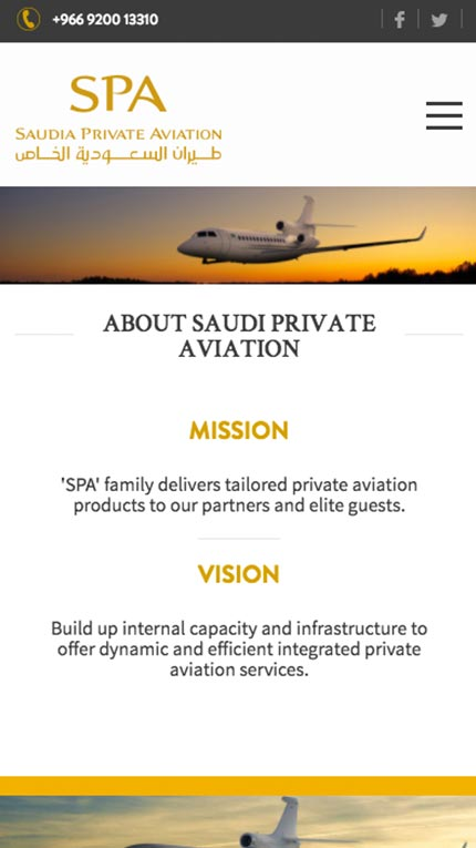 Saudi Private Aviation